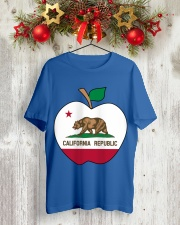 California - National Teacher Day Classic T-Shirt lifestyle-holiday-crewneck-front-2