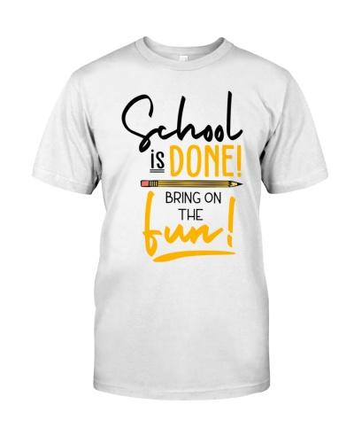 Teacher - School is done