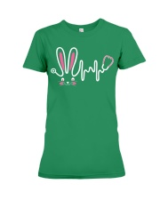 Bunny Respiratory Therapist - Easter Day Premium Fit Ladies Tee thumbnail