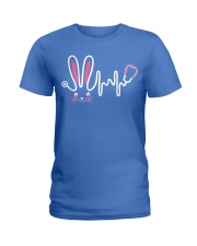 Bunny Respiratory Therapist - Easter Day Ladies T-Shirt thumbnail