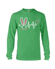 Bunny Respiratory Therapist - Easter Day Long Sleeve Tee thumbnail