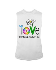Love Retired Teacher Life Sleeveless Tee thumbnail