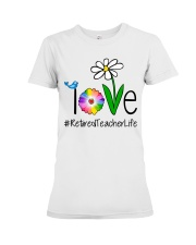 Love Retired Teacher Life Premium Fit Ladies Tee thumbnail