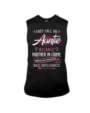 Auntie - They Call me Auntie - Bad Influence Sleeveless Tee thumbnail