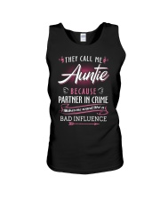 Auntie - They Call me Auntie - Bad Influence Unisex Tank thumbnail