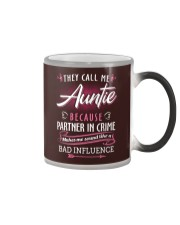 Auntie - They Call me Auntie - Bad Influence Color Changing Mug thumbnail