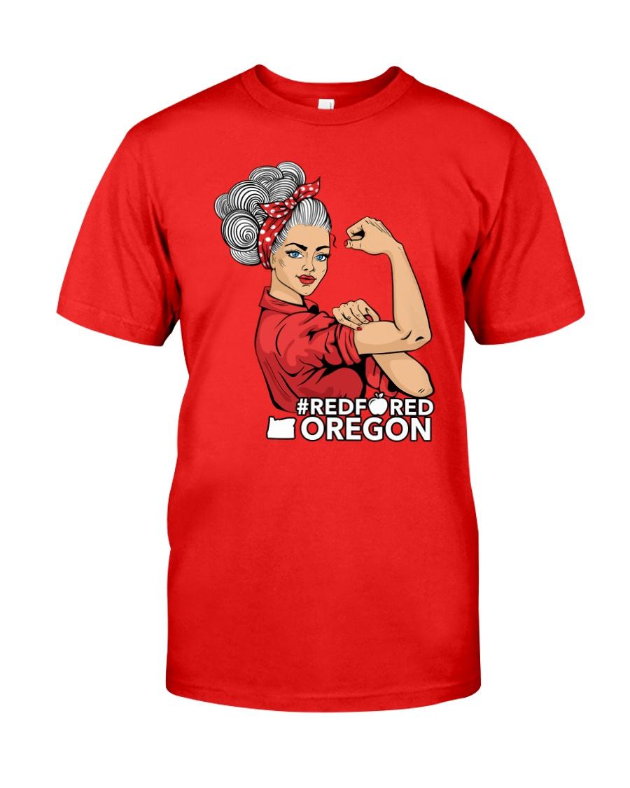 Oregon Strong Teacher - RedforED Classic T-Shirt