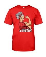 Oregon Strong Teacher - RedforED Classic T-Shirt front