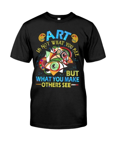 Art Teacher - Art is not What you see