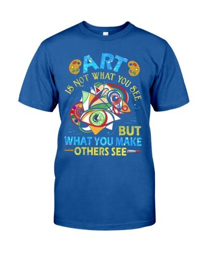 Art Teacher - Art is not What you see