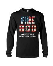 Firefighter - Fire BOD More Knee Flag Long Sleeve Tee thumbnail