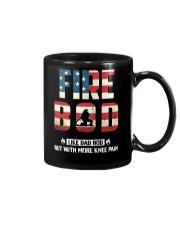 Firefighter - Fire BOD More Knee Flag Mug thumbnail