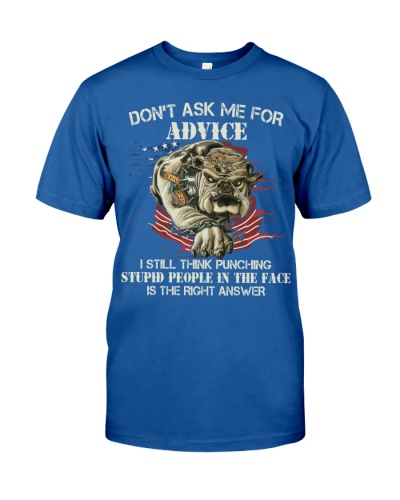 Marine - Don't ask me for advice
