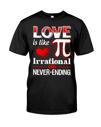 Math Teacher - Love is like Pi