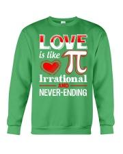Math Teacher - Love is like Pi Crewneck Sweatshirt thumbnail