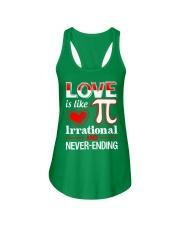 Math Teacher - Love is like Pi Ladies Flowy Tank thumbnail
