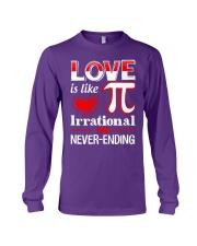 Math Teacher - Love is like Pi Long Sleeve Tee thumbnail