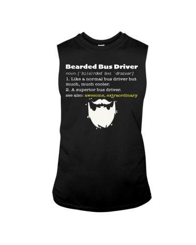 School Bus Driver - Bearded