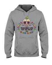 Teacher life got me feeling un Poco Loco Hooded Sweatshirt thumbnail