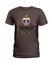 Teacher life got me feeling un Poco Loco Ladies T-Shirt thumbnail