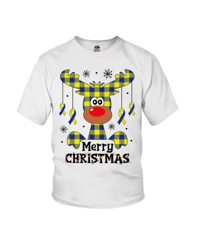 Down Syndrome - Merry Christmas - Funny Reindeer