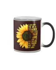 I was born to be a Teacher  Color Changing Mug thumbnail