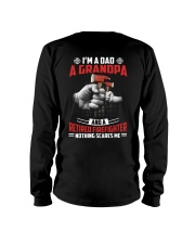 Firefighter - Grandpa Nothing Scares Me Long Sleeve Tee thumbnail