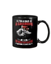 Firefighter - Grandpa Nothing Scares Me Mug thumbnail