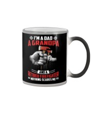 Firefighter - Grandpa Nothing Scares Me Color Changing Mug thumbnail