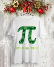 Math Teacher - Luck of the Pirish Classic T-Shirt lifestyle-holiday-crewneck-front-2
