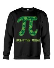 Math Teacher - Luck of the Pirish Crewneck Sweatshirt thumbnail