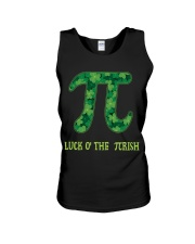 Math Teacher - Luck of the Pirish Unisex Tank thumbnail