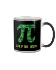 Math Teacher - Luck of the Pirish Color Changing Mug thumbnail