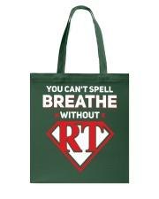 Respiratory - RT Tote Bag thumbnail