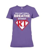 Respiratory - RT Premium Fit Ladies Tee thumbnail