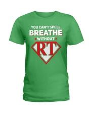 Respiratory - RT Ladies T-Shirt thumbnail