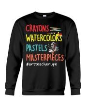 Art Teacher Life Crewneck Sweatshirt thumbnail