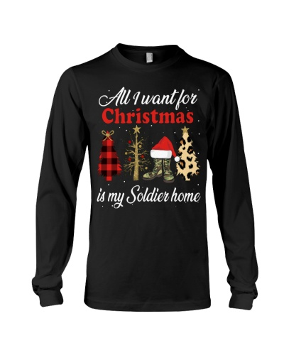 Veteran - All I want for Christmas - Soldier Wife