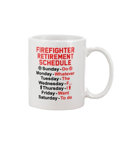 Firefighter Retirement Schedule