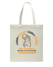 Nurse - May The Odds Be Ever In Your Favor Tote Bag thumbnail