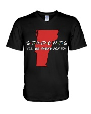 Students Be There - Vermont V-Neck T-Shirt thumbnail