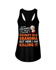 Grumpy Old Grandma Ladies Flowy Tank thumbnail