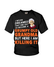 Grumpy Old Grandma Youth T-Shirt thumbnail