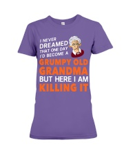 Grumpy Old Grandma Premium Fit Ladies Tee thumbnail