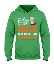 Grumpy Old Grandma Hooded Sweatshirt thumbnail