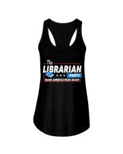 Librarian Party Ladies Flowy Tank thumbnail