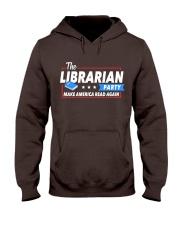 Librarian Party Hooded Sweatshirt thumbnail