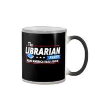 Librarian Party Color Changing Mug thumbnail