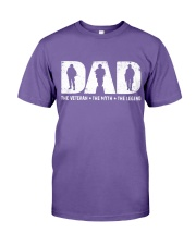 Veteran Dad - The Veteran - The Myth - The Legend Premium Fit Mens Tee thumbnail