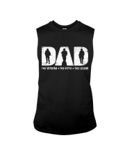 Veteran Dad - The Veteran - The Myth - The Legend Sleeveless Tee tile